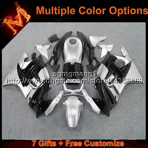 23colors+8Gifts silver black motorcycle cowl for HONDA CBR 600F3 1997-1998 CBR600F3 97 98 ABS motorcycle panels