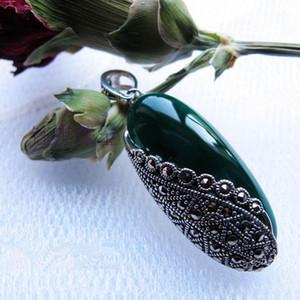 S925 стерлингового серебра Агат ожерелье-Софо
