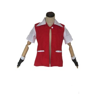 Ash Ketchum Rouge Veste Costume Cosplay Costume Unisexe