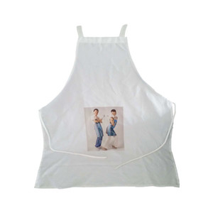 Fashion DIY OEM Sublimation Blank apron For Heat Transfer Press Machine Adult Kids daidle