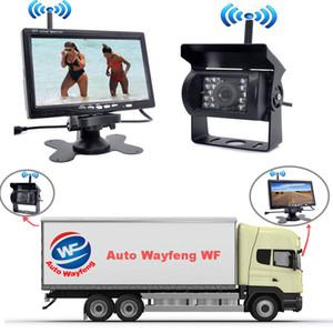 """Enregistreur de voiture DVR sans fil avec vue arrière de recul, système de vision nocturne avec caméra + moniteur de 7 """"pour expédition gratuite en camion de camping-car"""