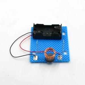 DIY научный эксперимент самодельного электродвигателя для детского игрушечного учебного оборудования