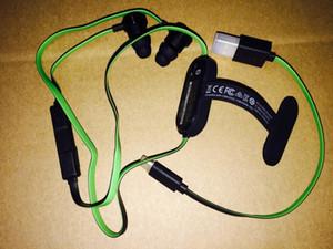 ГОРЯЧАЯ Беспроводная Razer Hammerhead BT Bluetooth Наушники Беспроводные наушники-вкладыши С Микрофоном С Розничной Коробкой В Ухо Игровые гарнитуры