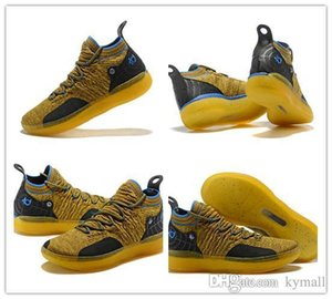 2018 nouvelles chaussures OG KD 11 de basket-ball chaussures Kevin Durant 11s courir Athletic off chaussures blanc luxe KD EP Elite Sport Sneakers