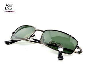 = Клара вида = на заказ близорукий минус рецепт щит рамка прямоугольные поляризованные Мужчины Женщины солнцезащитные очки -1 до -6