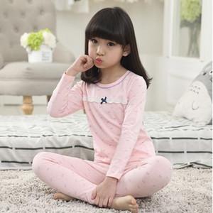 Neue Kinder Mädchen Pyjamas Sets Prinzessin Pyjamas Kinder Pyjama Infantil Nachtwäsche Hause Kleidung Cartoon Baumwolle Baby Pyjama 4-14 T