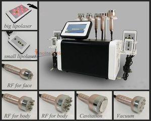 2018 nuovo arrivo 6in1 lipolisi cavitazione e lipolaser radiofrequenza vuoto vuoto dimagrante cellulite macchina ad ultrasuoni