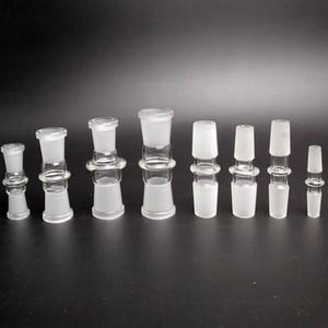 Стандартный Кальян Bowl Adapter 10-10mm 14-14mm Мужской Мужской 18-18mm 14-18mm Мужской Женский стекло Адаптер для стекла кальян Бонг Oil Rig