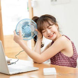 2018 New Arrival USB Mini metal Fan 360 Rotate Mute Radiator Fan Desktop Power PC LaptopDesk Fan