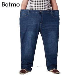 Batmo 2018 nouvelle arrivée coton de qualité décontracté classique jeans droites hommes, plus-taille 30-52 NZ8632