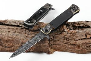 Top-Qualität Sog KS931A schnell geöffnete Flipper Folding-440C Bade G10 + Stahlblech Griff Liner Lock EDC Taschenmesser