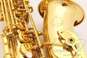 Suzuki A901 Haute Qualité En Laiton Or Laque Saxophone Alto Mib E Accord Sax Nouvelle Arrivée Double Tendons Sax Étudiant Instruments De Musique