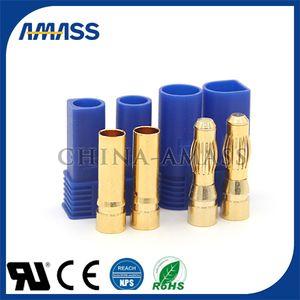 EC5 5.0MM 바나나 플러그 RC Lipo 배터리 커넥터 골드 총알 플러그