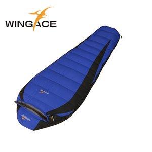 Wingace ملء 1000 جرام بطة أسفل كيس النوم ل outdoor الترفيه المشي خفيفة الربيع الخريف التخييم السياحية كيس النوم
