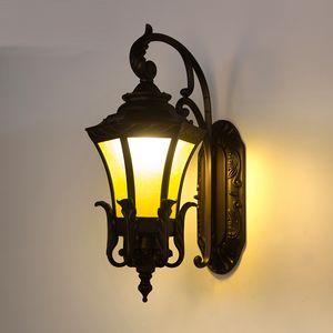 Ao ar livre À Prova D 'Água Lâmpada de Parede levou Entrada Lâmpadas de Parede de Iluminação Ao Ar Livre Estilo Europeu Villa Corredor luz exterior à prova d' água parede levou ligths
