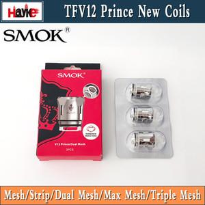 100% originale SMOK TFV12 Prince Dual Mesh Triple Mesh K4 Bobina Q4 X6 T10 M4 Massive Vapour Vape Sostituzione testa bobina per Cloud Beast Tank