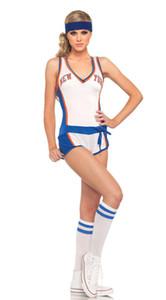 مثير النساء كرة السلة الغبطة الطفل الرياضة حافظ على لياقته تجريب فريق زي طلاب الرياضة زي التشجيع مجموعة الملابس