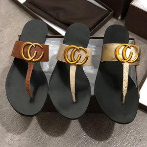 designer brand cool slippers summer Woman ladies fashion high quality sandals outdoor beach shoes indoor apartment shoes Flops Slippers w01