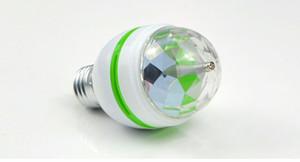 85-265V 110V 220V E27 3W Stade RGB LED Lumière Auto Rotation lampe de vacances Laser Disco Party Holiday Dance ampoule Éclairage De Noël
