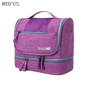 Cosmetic Bathroom Bag Organizer Storage Makeup Bag Organizer Portable Travel Men RHXFXTL Waterproof Travel Bags Lady Beautician Hthhv