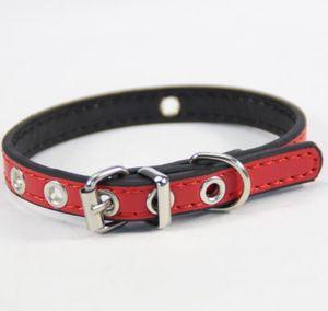 VENDITA CALDA Pet Supplies collari DIY Hollow design PU piccolo cane gatto collare top quanlity J22