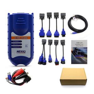 NEXIQ Bluetooth Caminhão pesado Scanner Nexiq 125032 USB Ligação Com todos os adaptadores USB Nexiq Fazer a ligação Better Than DPA5