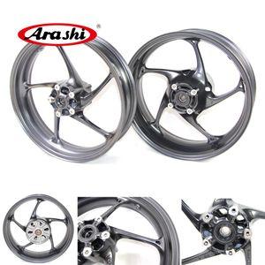 Arashi für Triumph Street Triple 675 R 2013 2014 2015 Front-Hinterrad-Felgensatz Motorrad-Ersatz Zubehör Daytona 675R