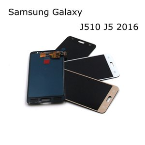 100% Test 5.2 '' TFT SAMSUNG Galaxy J5 için Yüksek Kalite LCD 2016 Ekran J510 J510F J510FN J510M Dokunmatik Ekran Digitizer Meclisi