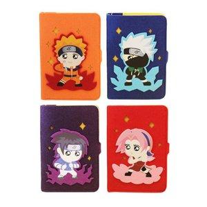 Cartoon Anime Naruto Diary Memo Pad Cute Sasuke Notebook Diario Semanal Planificador Notas Papelería Oficina Material Escolar Regalo