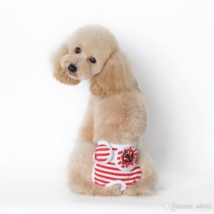 Dog Stripe Pantalon Physiologique Chiens Pantalon Confort Gentle Style Teddy Vêtements Animaux Fourniture Ropa Rara Perros 9 5hp ii