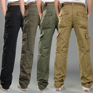 Wholesale-2016 Men Fashion Wearing Hommie Pants 4 Color Choices Pockets And Zipper Washed Fabric Straight Long Capris MG91