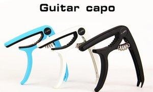 Plastica Capo della chitarra per 6 corde acustica classica Guitarra elettrico Ukulele sintonia pinza strumenti musicali Accessori NY033