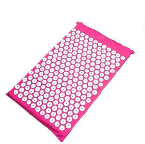 68 * 42 cm Yoga Massager Mat Acupuntura Cuidados de Saúde Alívio Da Dor Almofada Para Shakti Mats Útil Acupressure Pad Alta Qualidade 32ns Z
