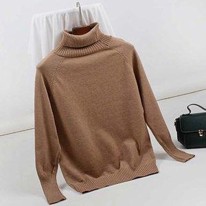 GIGOGOU водолазка женщины свитер с длинным рукавом вязание пуловер женщины свитера мягкий женский перемычка осень зима теплая Sweter Mujer