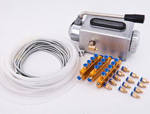 CNC Router Oil Pump Manual lubrication system grease pump oil tube Oil Distributor