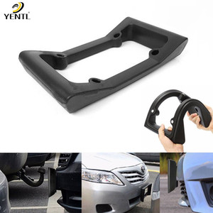 YENTL free shipping Car Auto Black Front Bumper Guard EVA License Plate Frame Tag Cover Protector Frame Tag Cover Protector Black