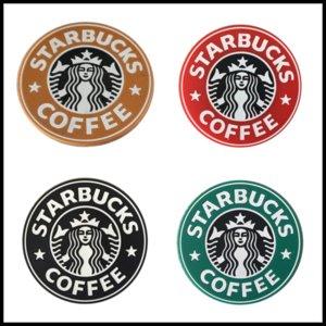 Yeni 8.5 cm Silikon Bardak Termo Kupası Yastık Tutucu Starbucks Deniz hizmetçi Kahve Kupalar Yuvarlak Mat 7 Renkler