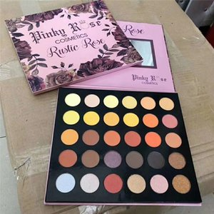 Nuevo maquillaje Pinky Rose Cosméticos Rose Rustic Rose Eyeshadow Palette 30 colores Mejor sombra de ojos Powder Beauty Makeup Palette