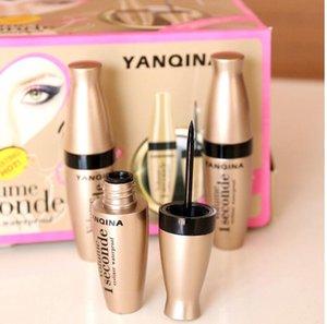 YANQINA 1 PCS Preto Delineador Líquido À Prova D 'Água Compõem Beleza Comestics Long-lasting Eye Liner Lápis Maquiagem Ferramentas