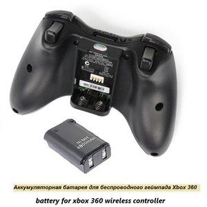 Xbox 360 용 최고의 4800mAh 배터리 팩 + 충전기 무선 게임 컨트롤러 게임 패드 배터리 팩 Xbox 360 Bateria Replacement