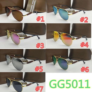 Estilos GGG 10pcs SOLAMENTE gafas de sol Vintage gafas de sol sin montura Hombres / Mujeres UV400 Diseñador de la marca Classic Oculos Desol Metal Gafas mujeres