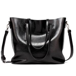 Nuove borse di design Borse di alta qualità PU Fashion Famous Brand Women Casual Tote Bag Secchio retrò olio alla moda bagagli da viaggio