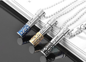 """""""Only Love """"316L Stainless Steel Cremation Jewelry Crystal Pendant Keepsake Necklace"""