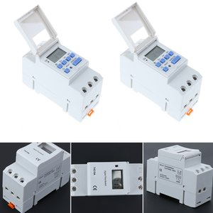12V 220V AC 50-60Hz Electronic Light Switch Weekly Programmable LCD Digital Timer Electronic Switch Relay Timer ControllerTool