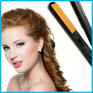 """Top Seller Pro 1 """"cerámica iónica turmalina plana plancha de pelo con caja al por menor herramientas para el cabello"""