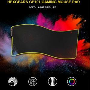 HEXGEARS لوحة الماوس بقيادة كبيرة رشاقته 780 * 5 * 355 مم محبوك الحافة 7 لون المطاط قاعدة كبيرة الألعاب ألعاب لينة ماوس الفأر حصيرة