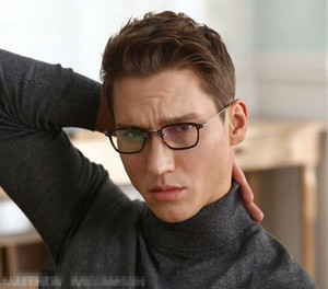 2019 Marca MW / 30 Pure-titânio + avental óculos leve masculina pequena frame47-23-145prescription retangular óculos caso full-set