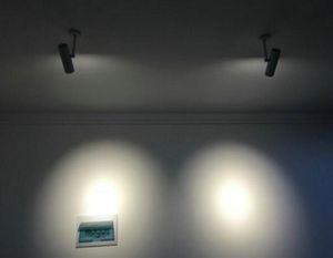 عكس الضوء كري 15W COB LED TRACK ضوء لمبات LED