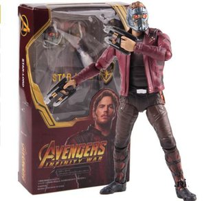 Marvel Legends Avengers Infinity War Star Lord Peter Quill Hot Toys PVC Action Figure Collectible Model Toy 14cm