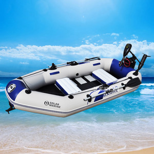 B3260 260 * 120*31cm ПВХ надувная лодка чистая рыболовная лодка док 3Persons с рисунком нижней пластины серфинг Sandbeach гребные лодки